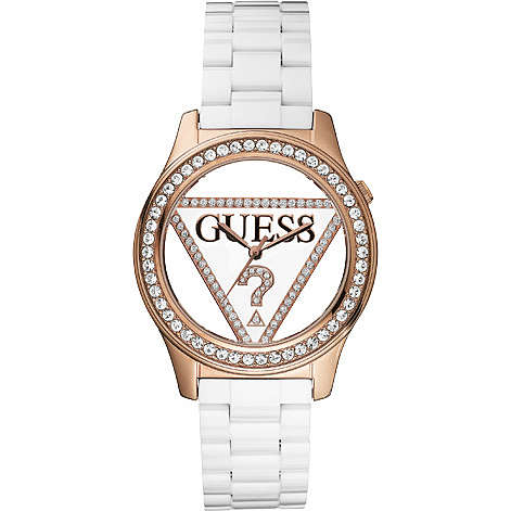 watch only time woman Guess W10578L1