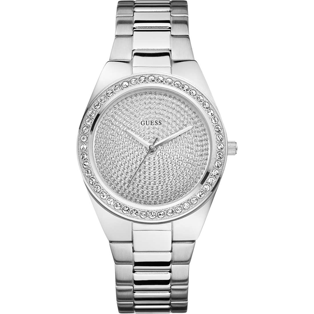 watch only time woman Guess W10605L1
