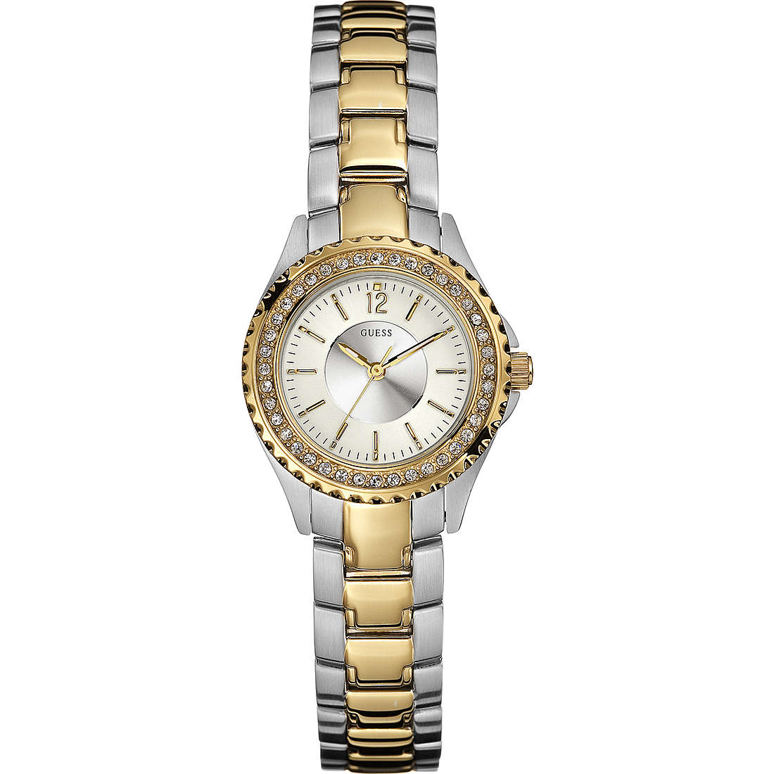 watch only time woman Guess W11068L2