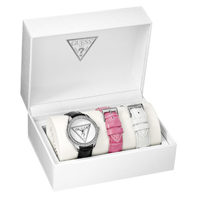 watch only time woman Guess W11165L1