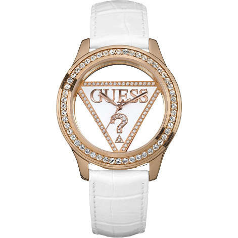 watch only time woman Guess W11555L1