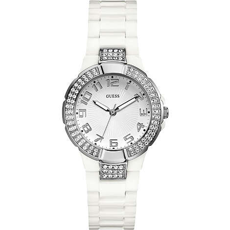 watch only time woman Guess W11611L1