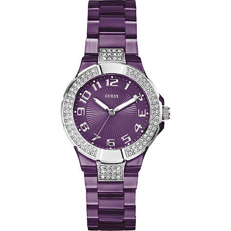 watch only time woman Guess W11611L3
