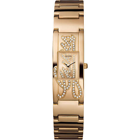 watch only time woman Guess W12097L1