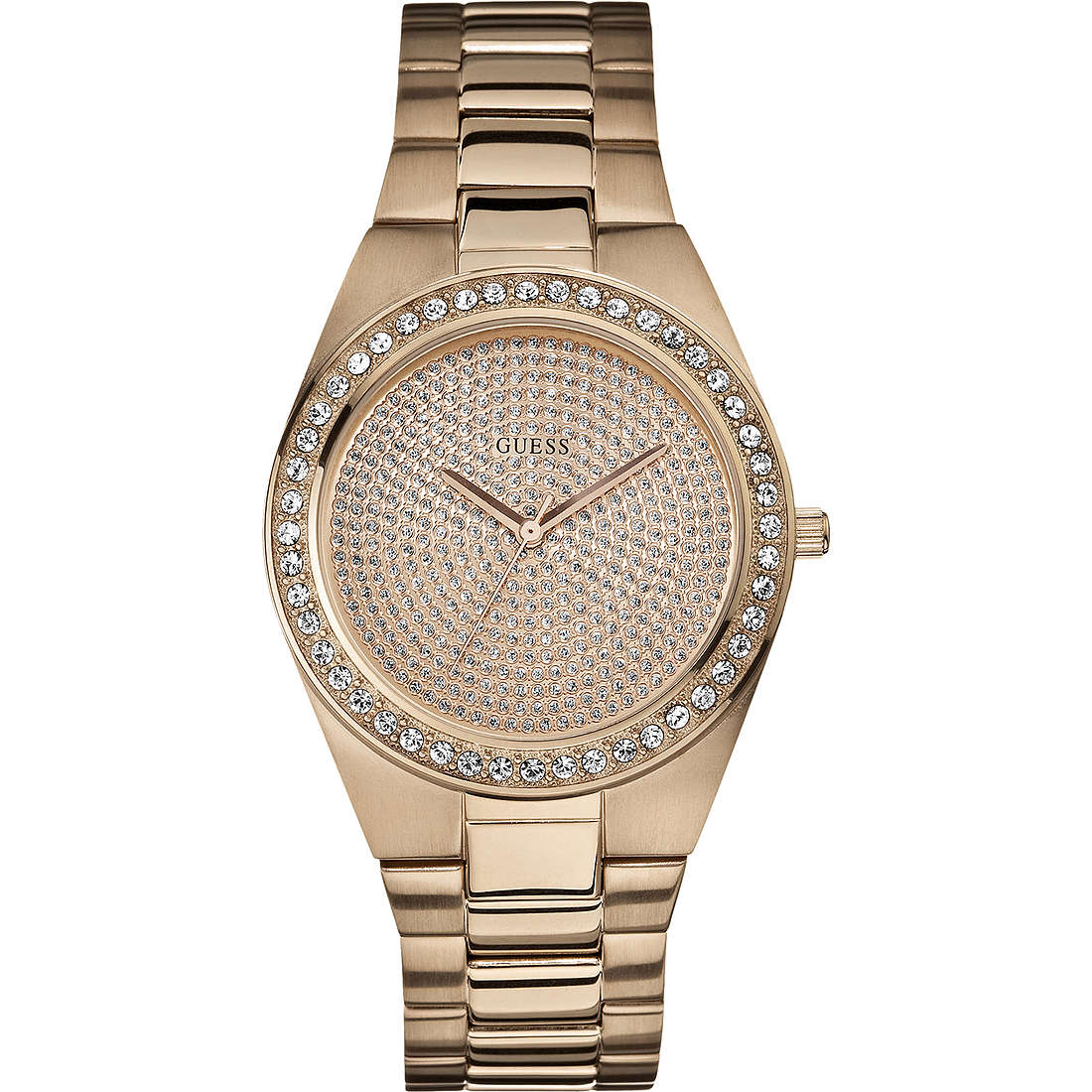 watch only time woman Guess W12651L1