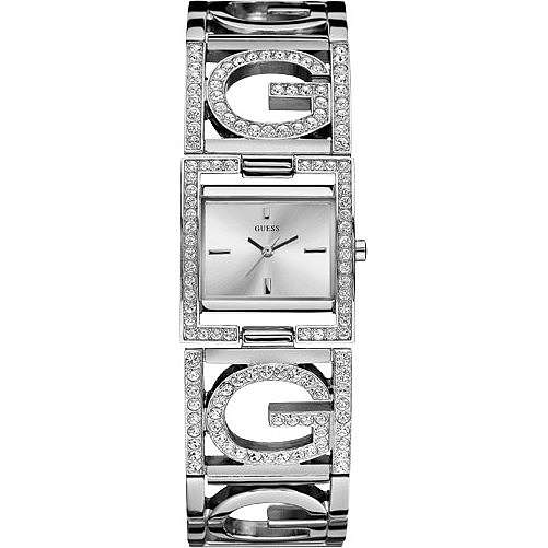 watch only time woman Guess W13074L1