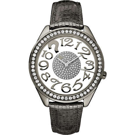 watch only time woman Guess W13096L2