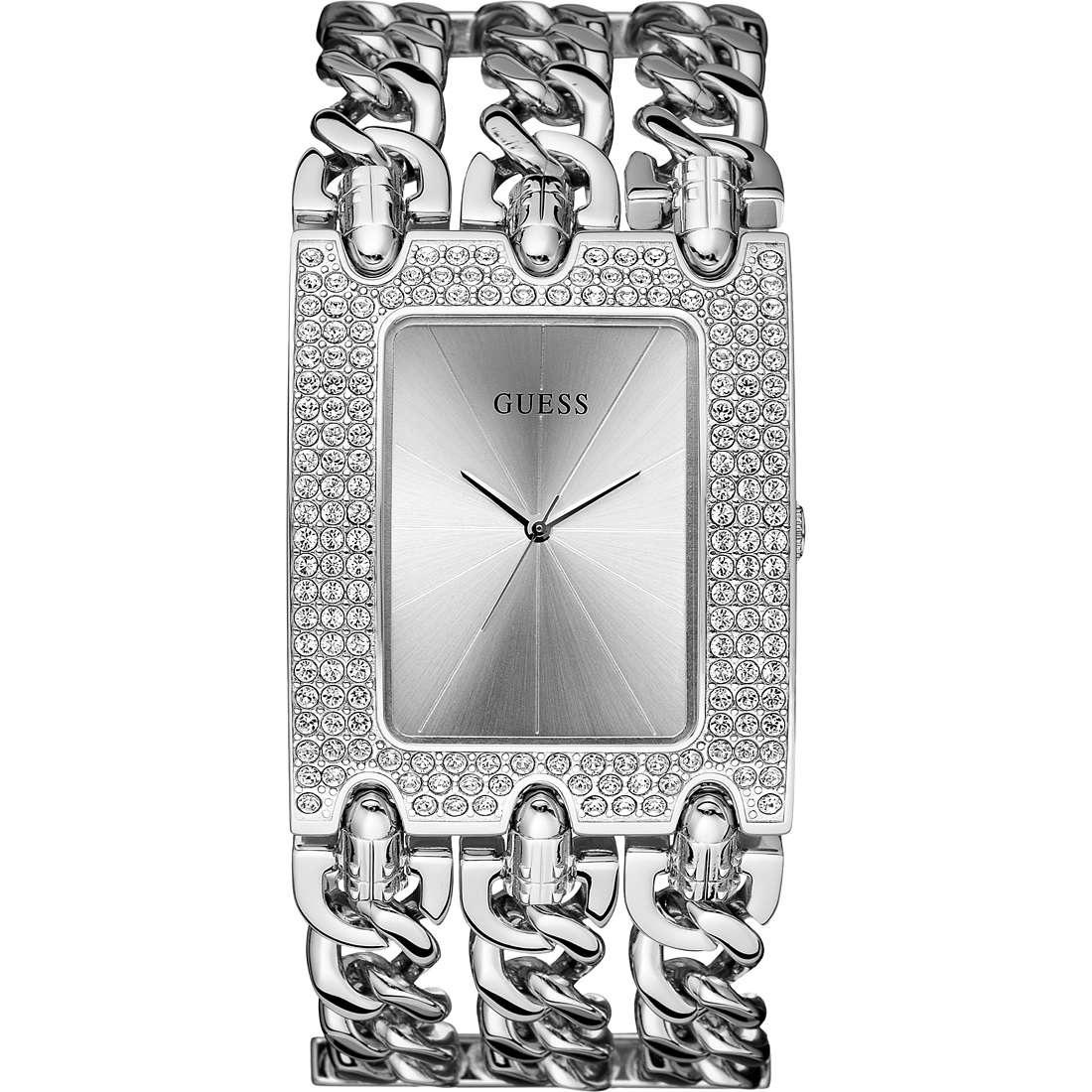watch only time woman Guess W13097L1