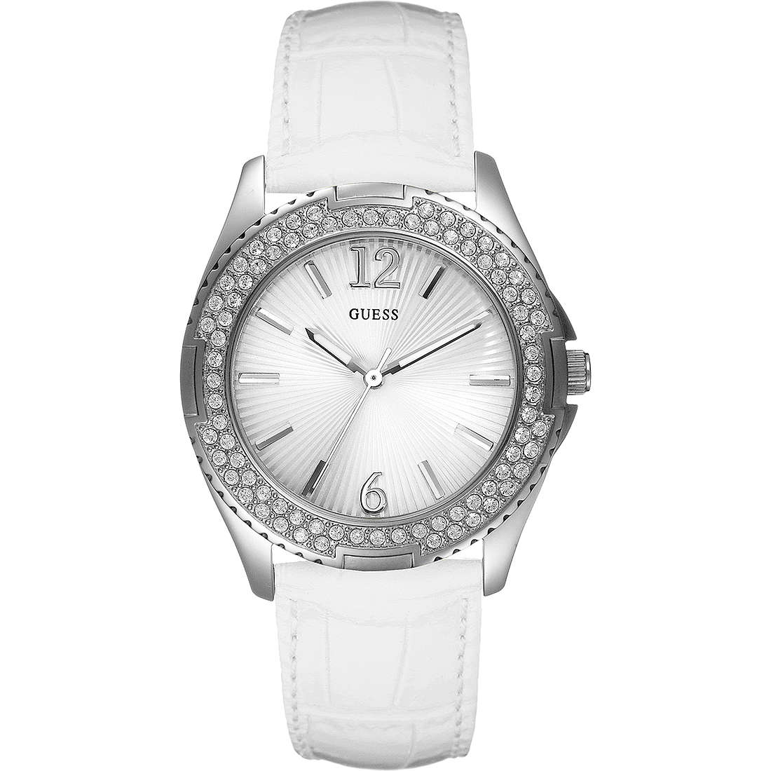 watch only time woman Guess W14033L1
