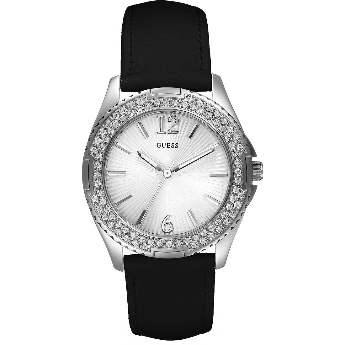watch only time woman Guess W14033L2