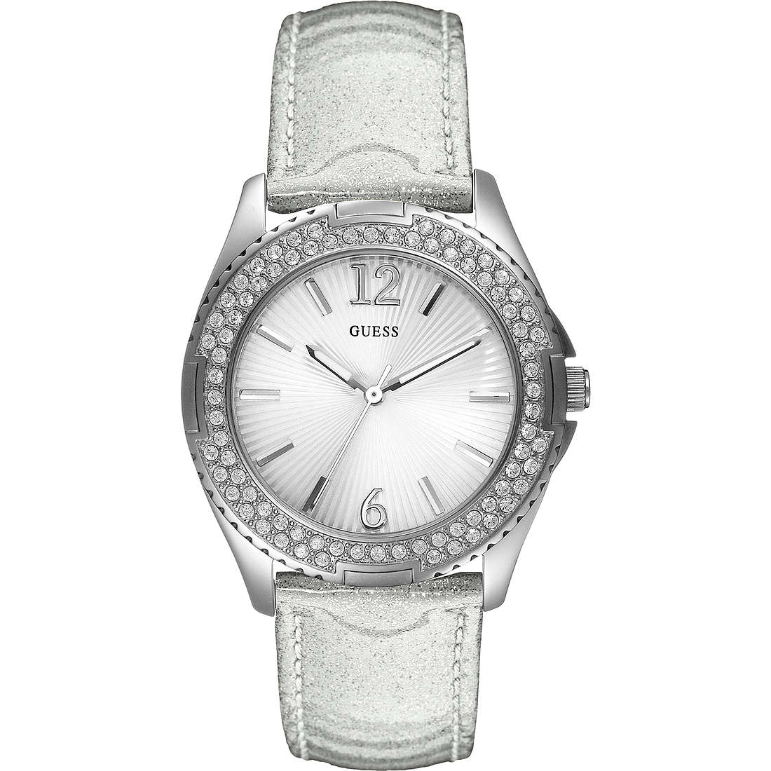 watch only time woman Guess W14033L3
