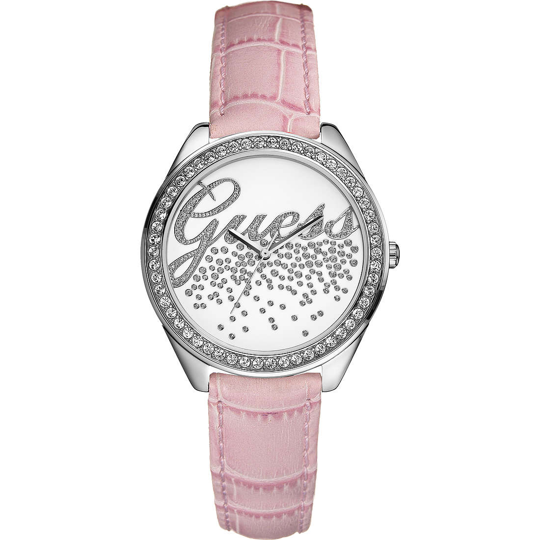 watch only time woman Guess W15049L1