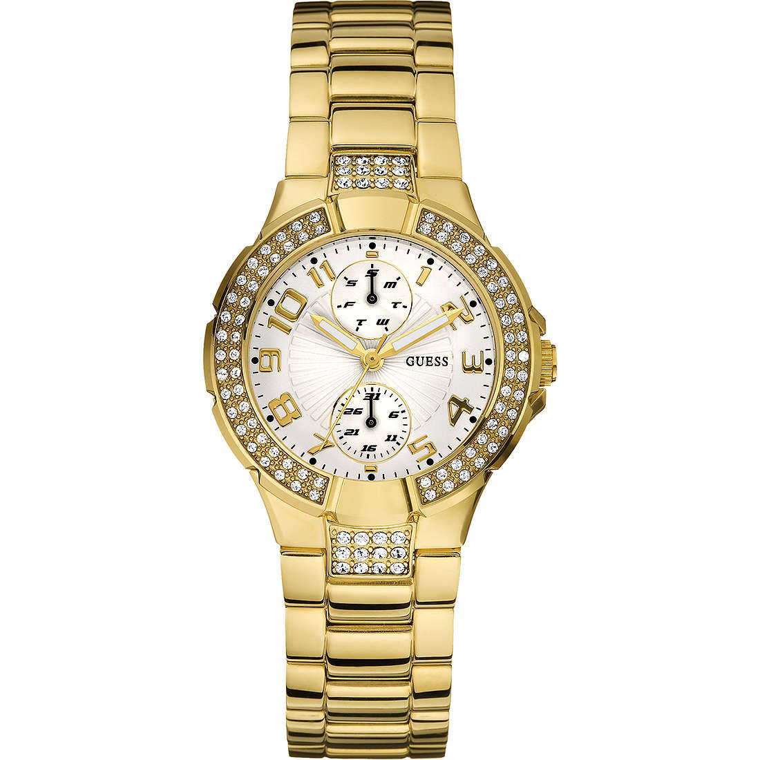 watch only time woman Guess W15072L1