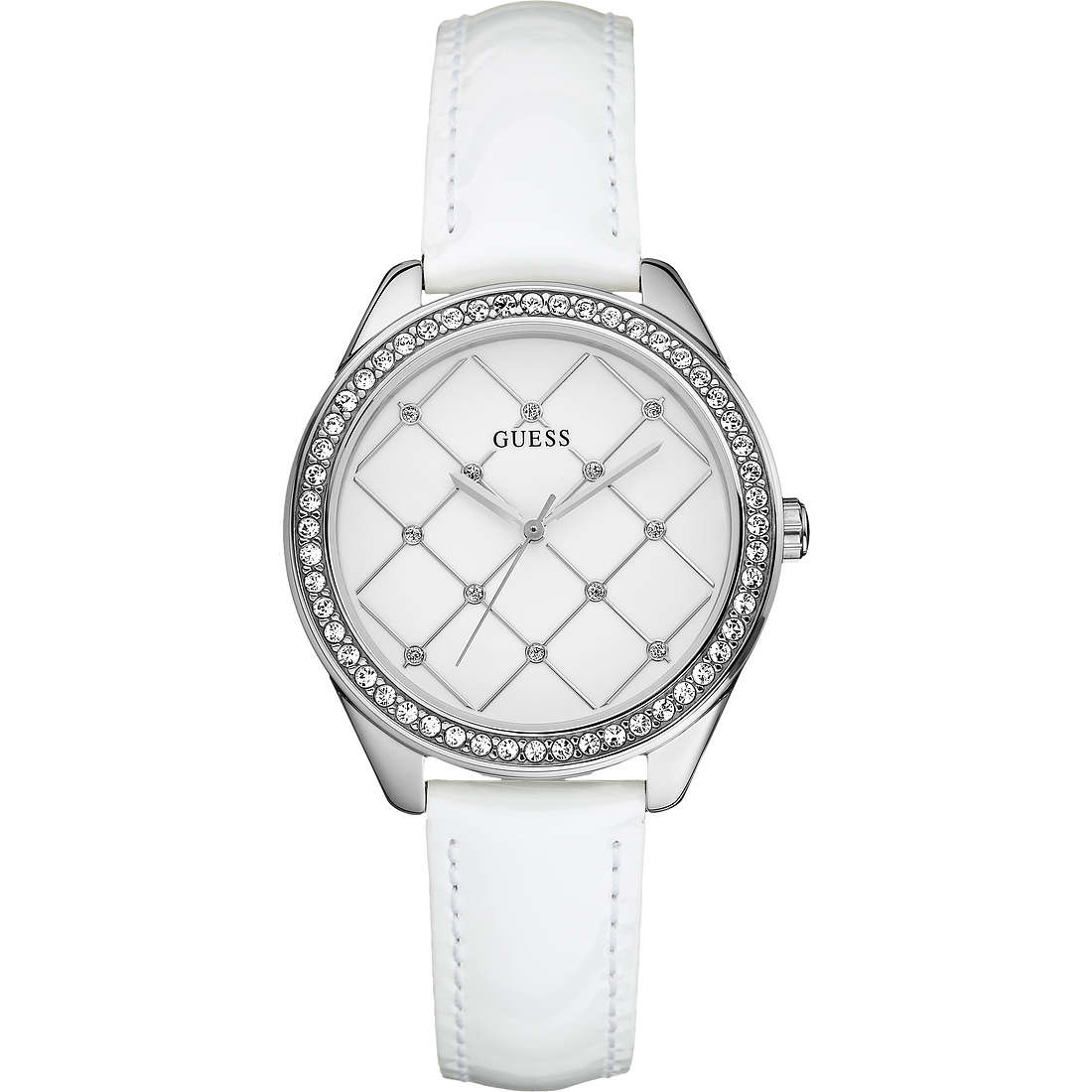 watch only time woman Guess W60005L1