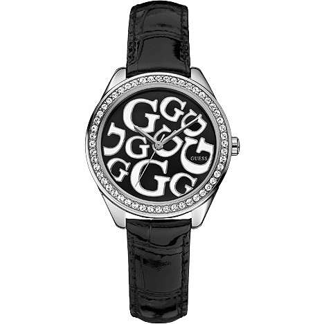 watch only time woman Guess W65008L2
