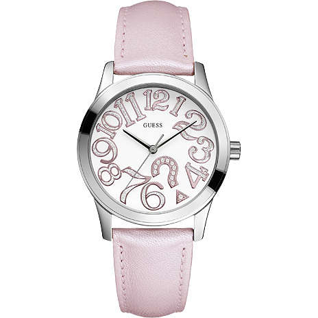 watch only time woman Guess W65011L1