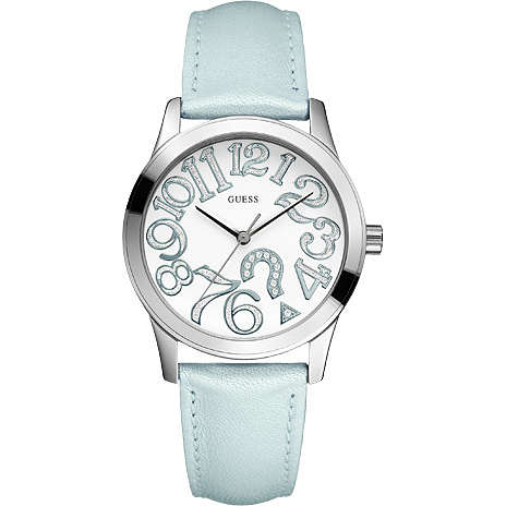watch only time woman Guess W65011L2