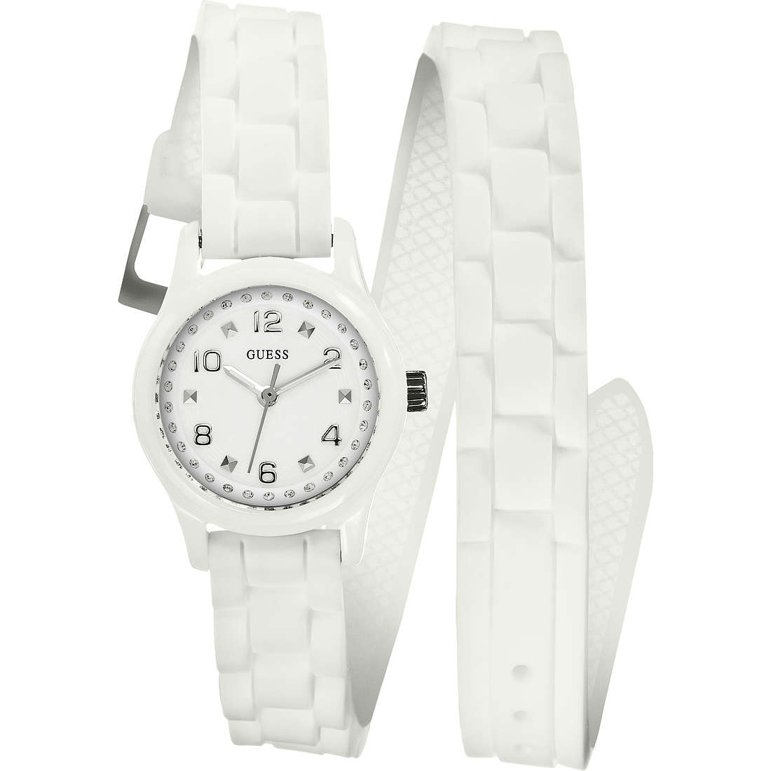 watch only time woman Guess W65023L1