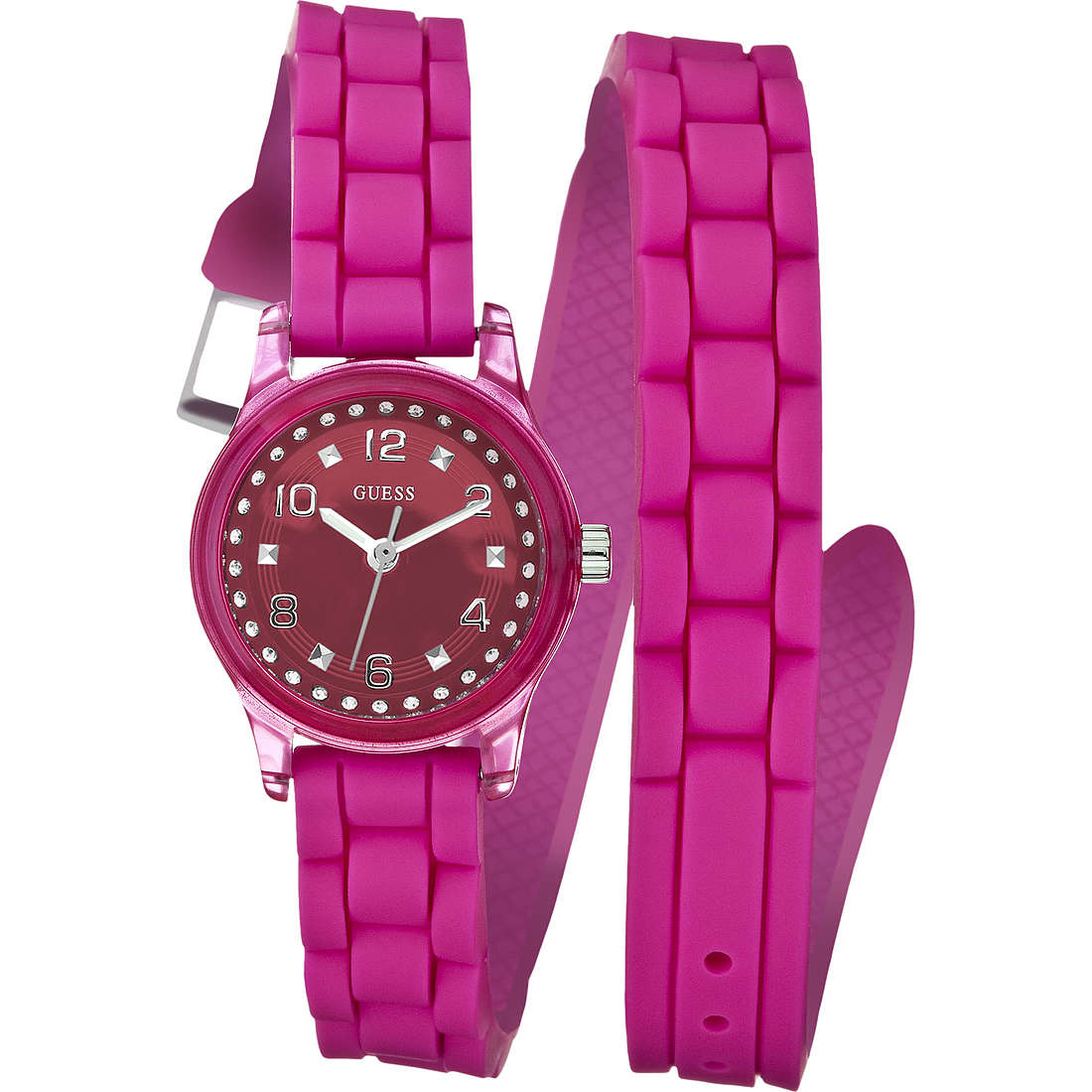 watch only time woman Guess W65023L3