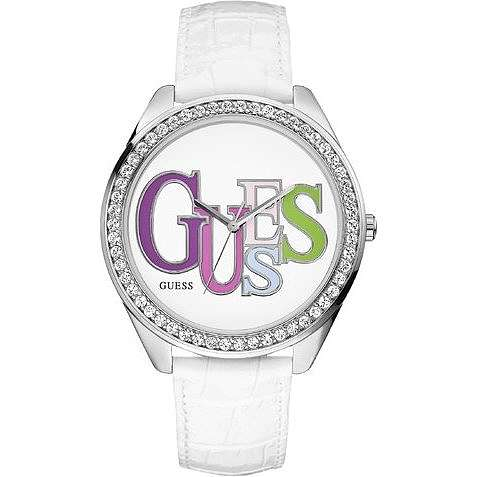 watch only time woman Guess W75027L1
