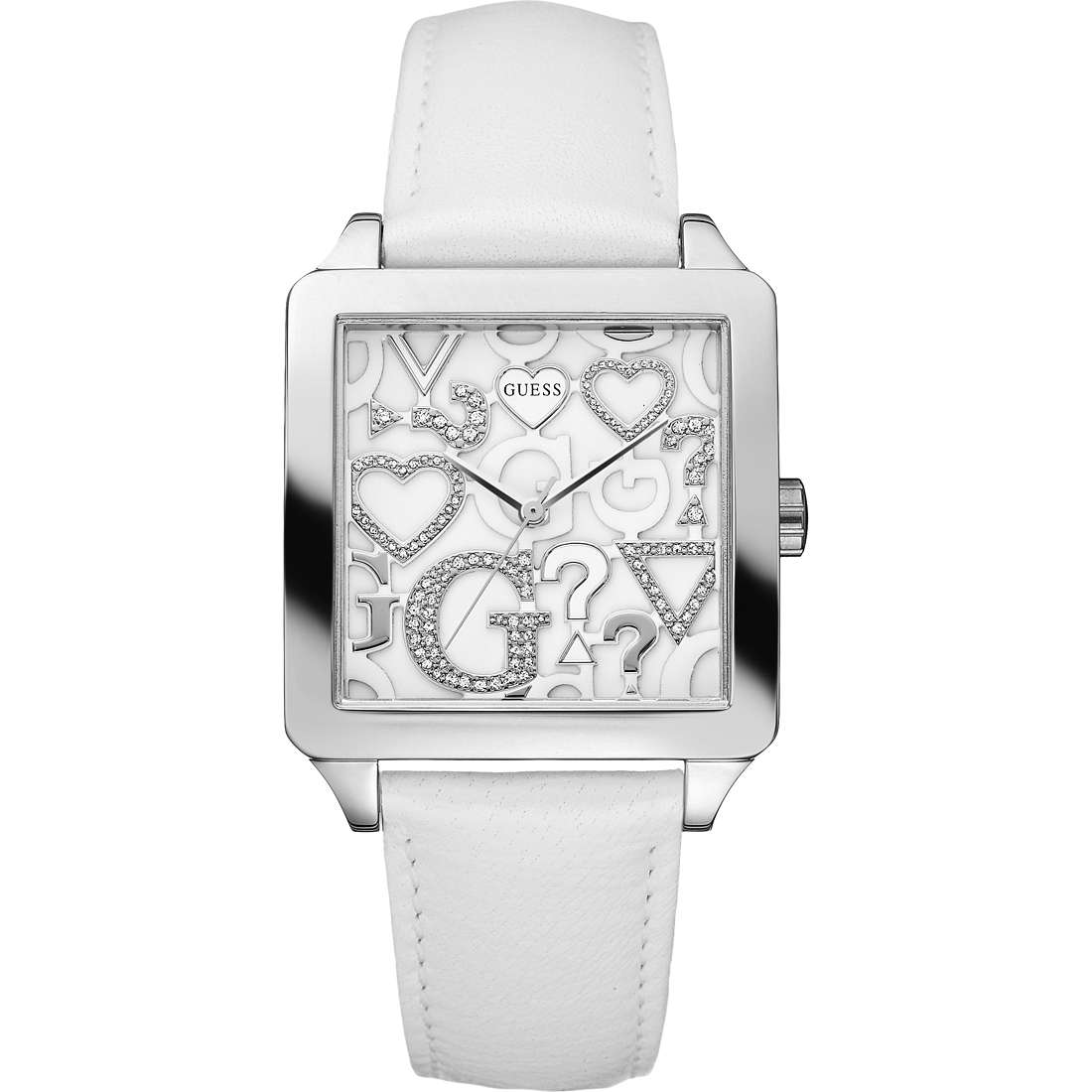 watch only time woman Guess W80056L1