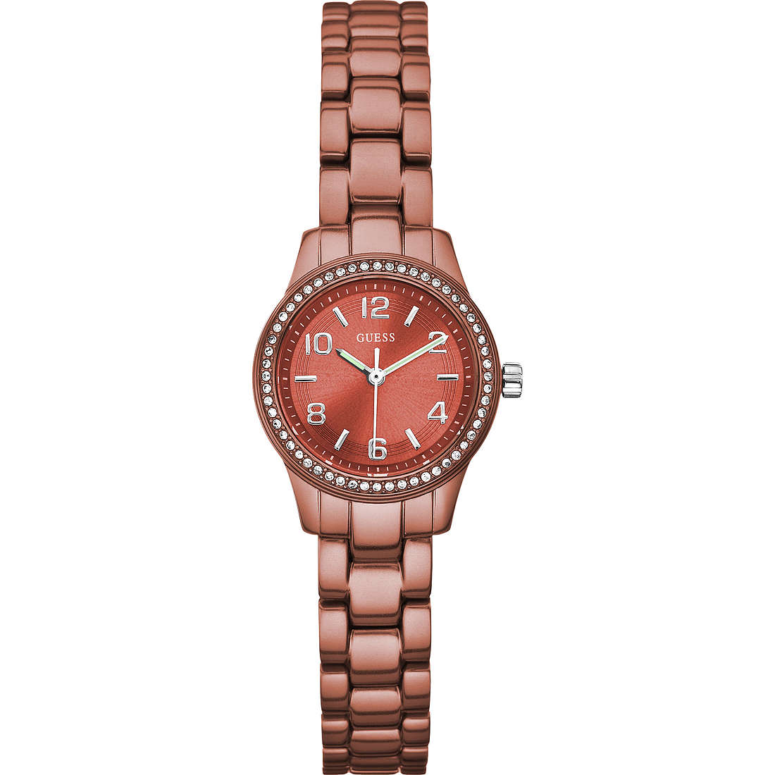 watch only time woman Guess W80074L3