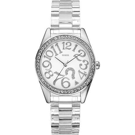 watch only time woman Guess W85092L1
