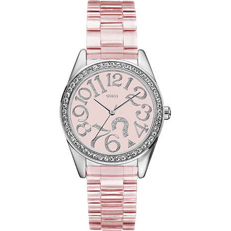 watch only time woman Guess W85092L2