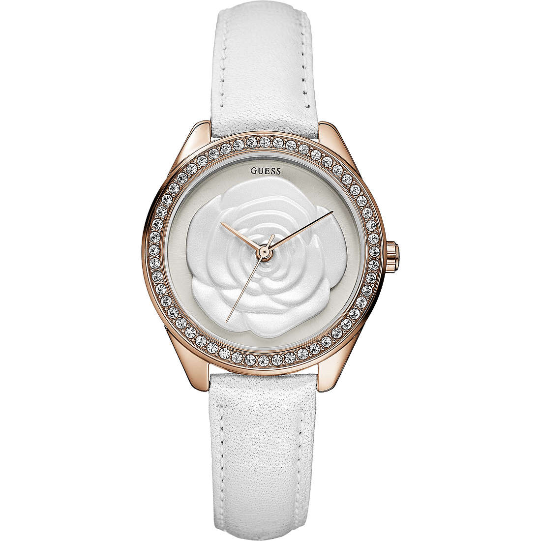watch only time woman Guess W90083L1