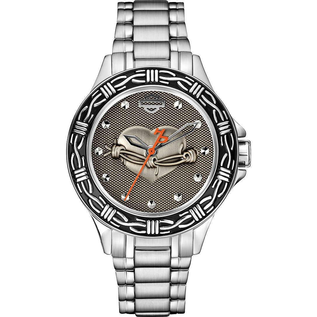 watch only time woman Harley Davidson 76L166