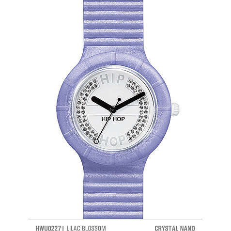 watch only time woman Hip Hop Crystals HWU0227