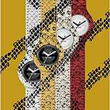 watch only time woman Hip Hop Leather HWU0412