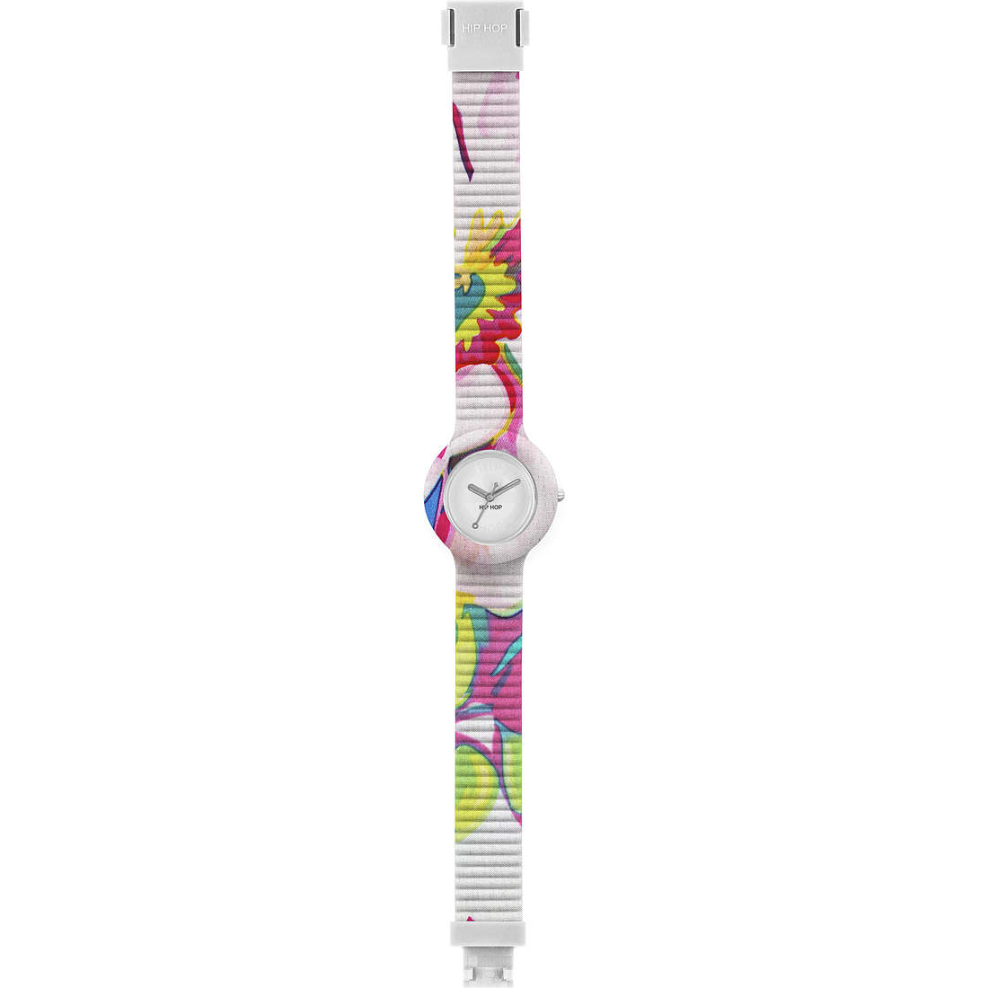watch only time woman Hip Hop Sheer Colors HWU0461