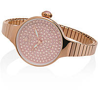 watch only time woman Hoops Cherié Diamonds 160 2601L-RG04