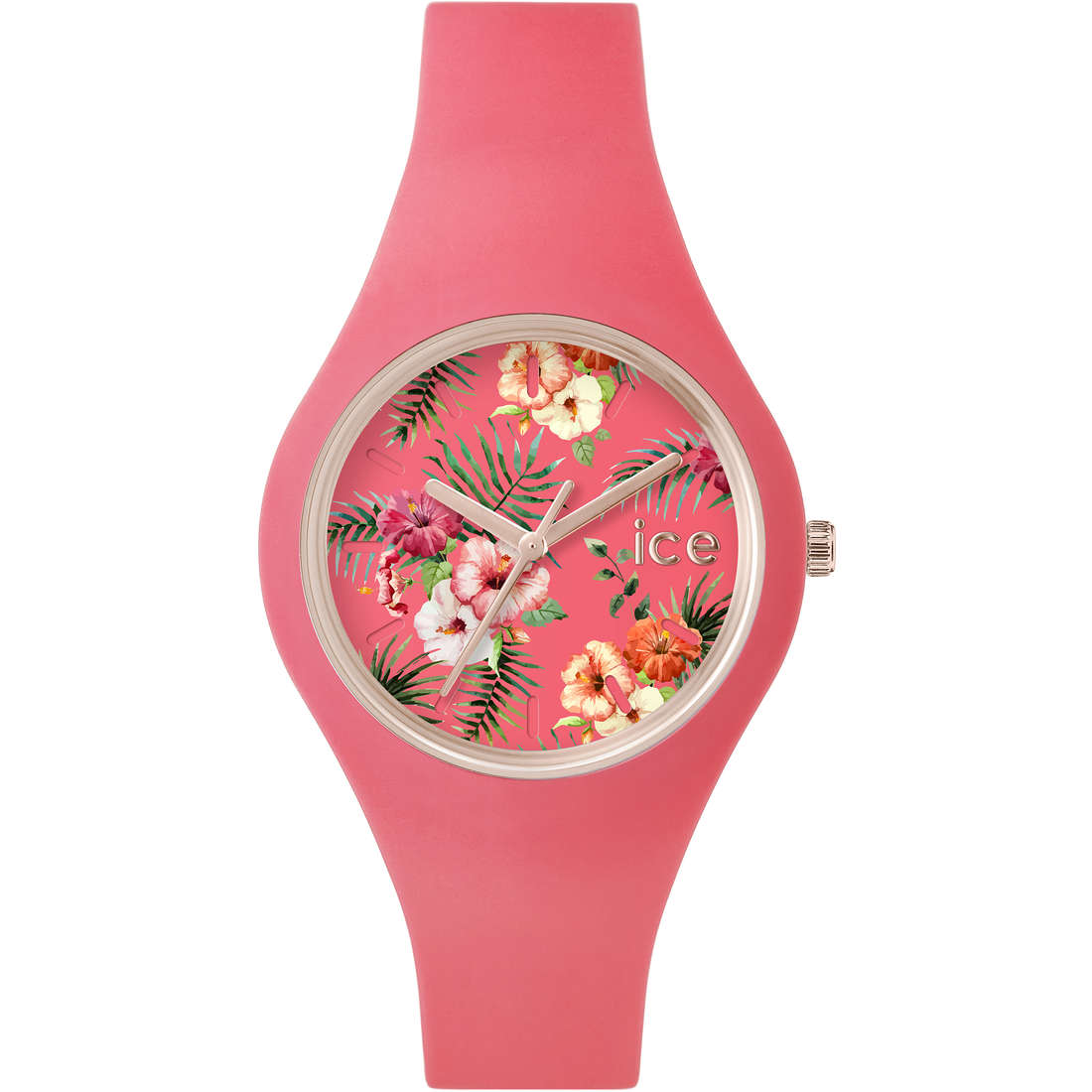 watch only time woman ICE WATCH Ice-Flower IC.ICE.FL.DEL.SS15