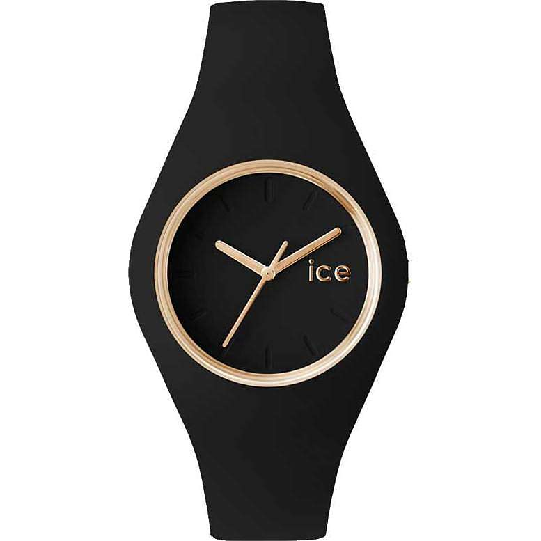 watch only time woman ICE WATCH Ice Glam ICE.GL.BK.S.S.14