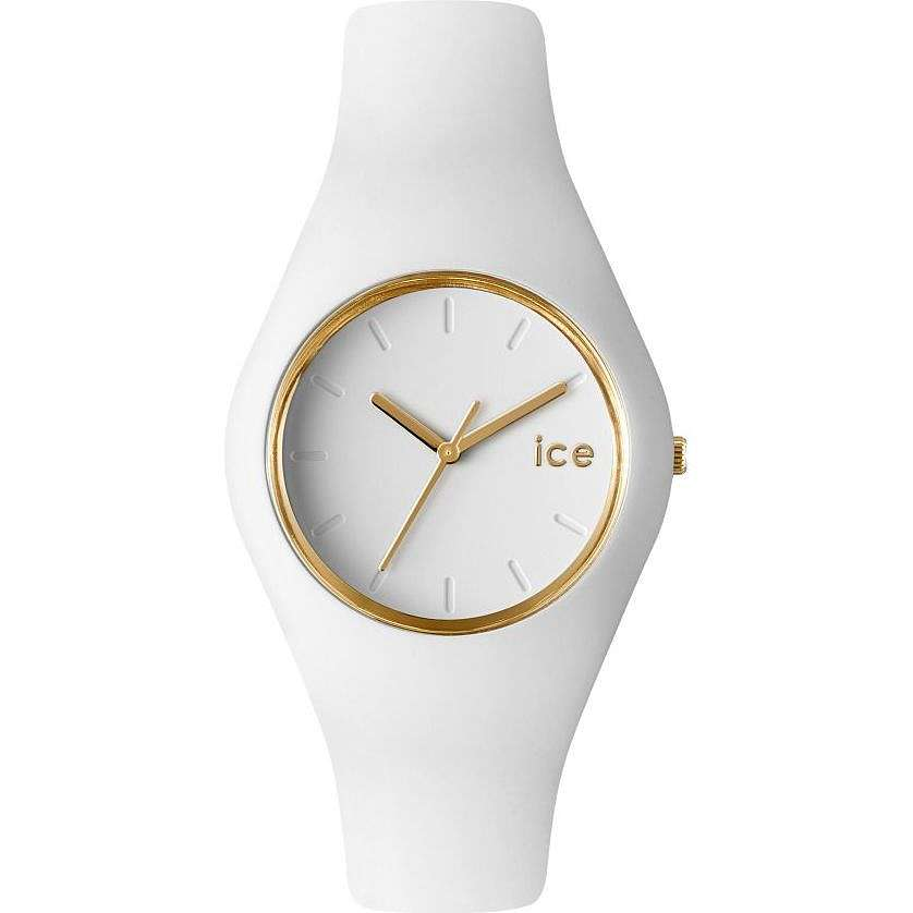 watch only time woman ICE WATCH Ice Glam ICE.GL.WE.S.S.14
