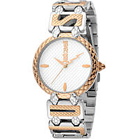 watch only time woman Just Cavalli Logo JC1L056M0055