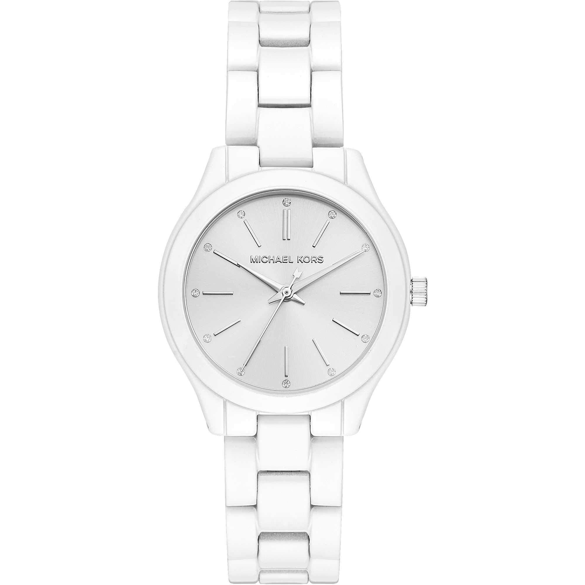 e7348609717e watch only time woman Michael Kors Mini Slim Runway MK3908 only time ...