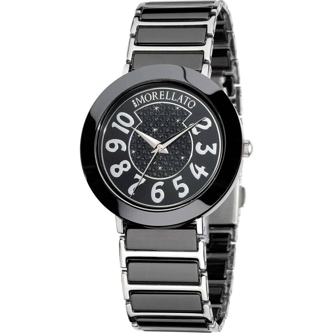 watch only time woman Morellato Black & White R0153103504
