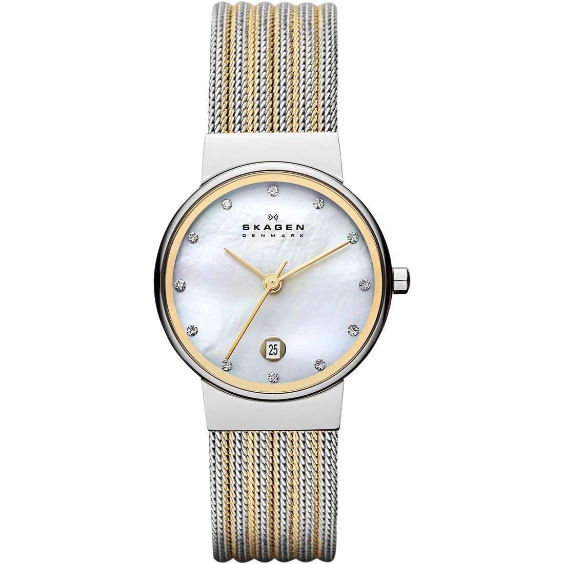 watch only time woman Skagen Ancher 355SSGS