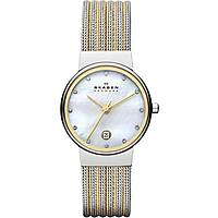 watch only time woman Skagen Ancher 355SSGS