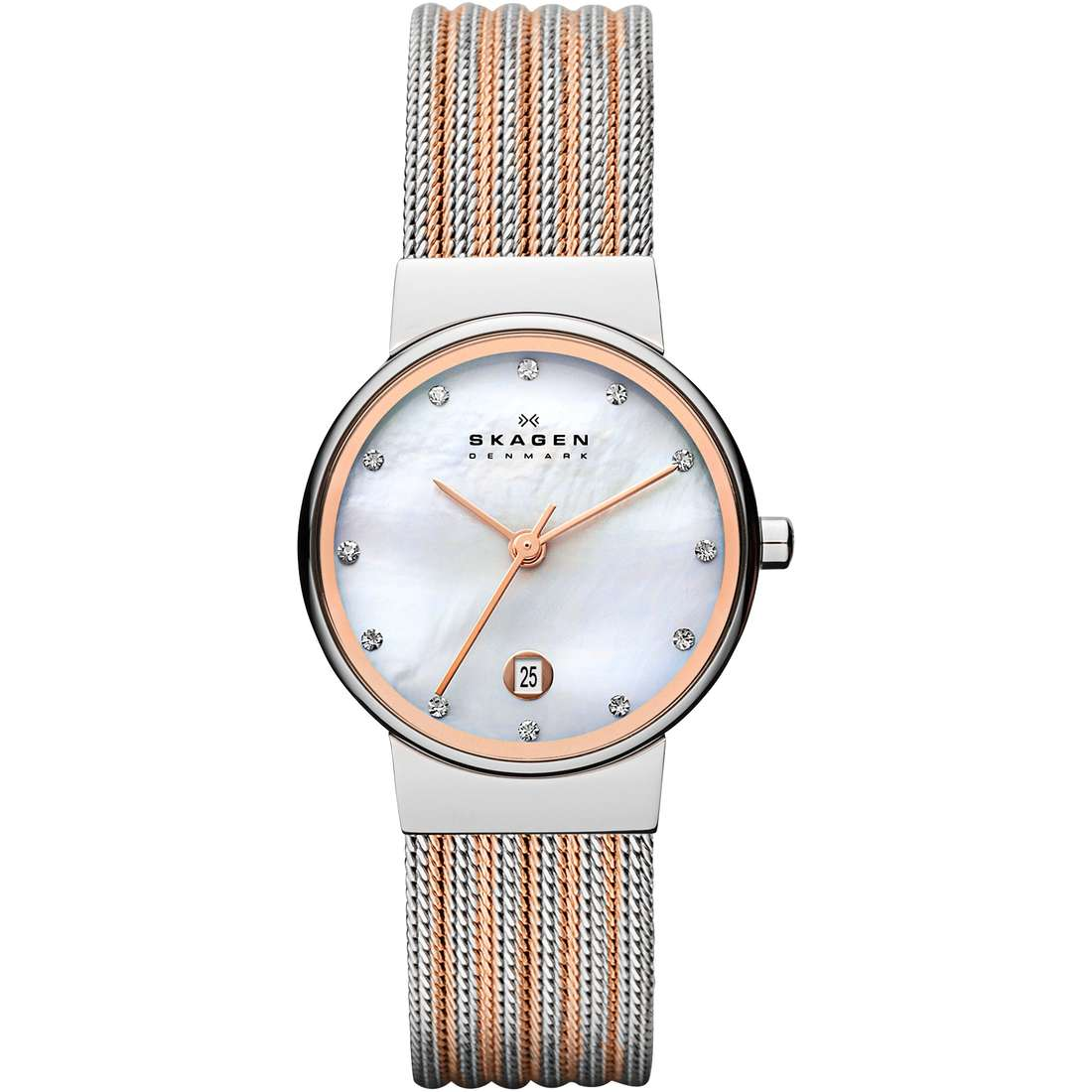watch only time woman Skagen Ancher 355SSRS