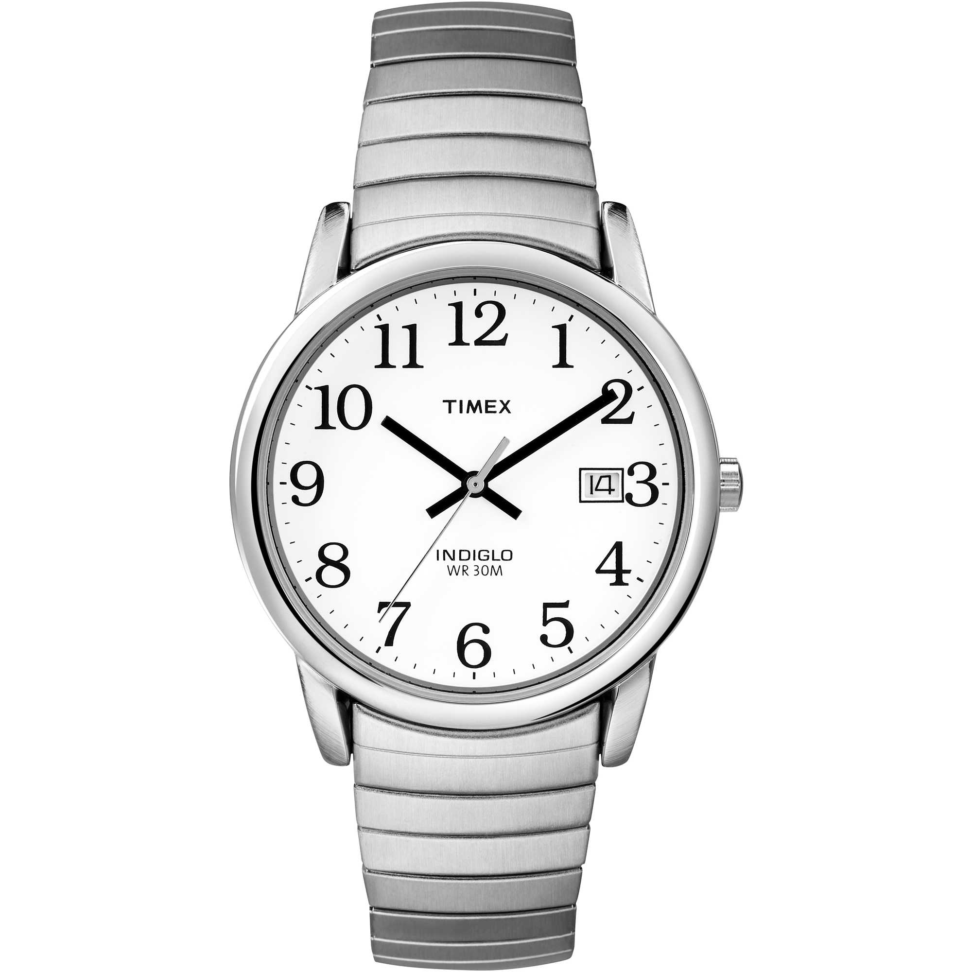 1e36e2ba9e48 watch only time woman Timex Easy Reader T2H451 only time Timex
