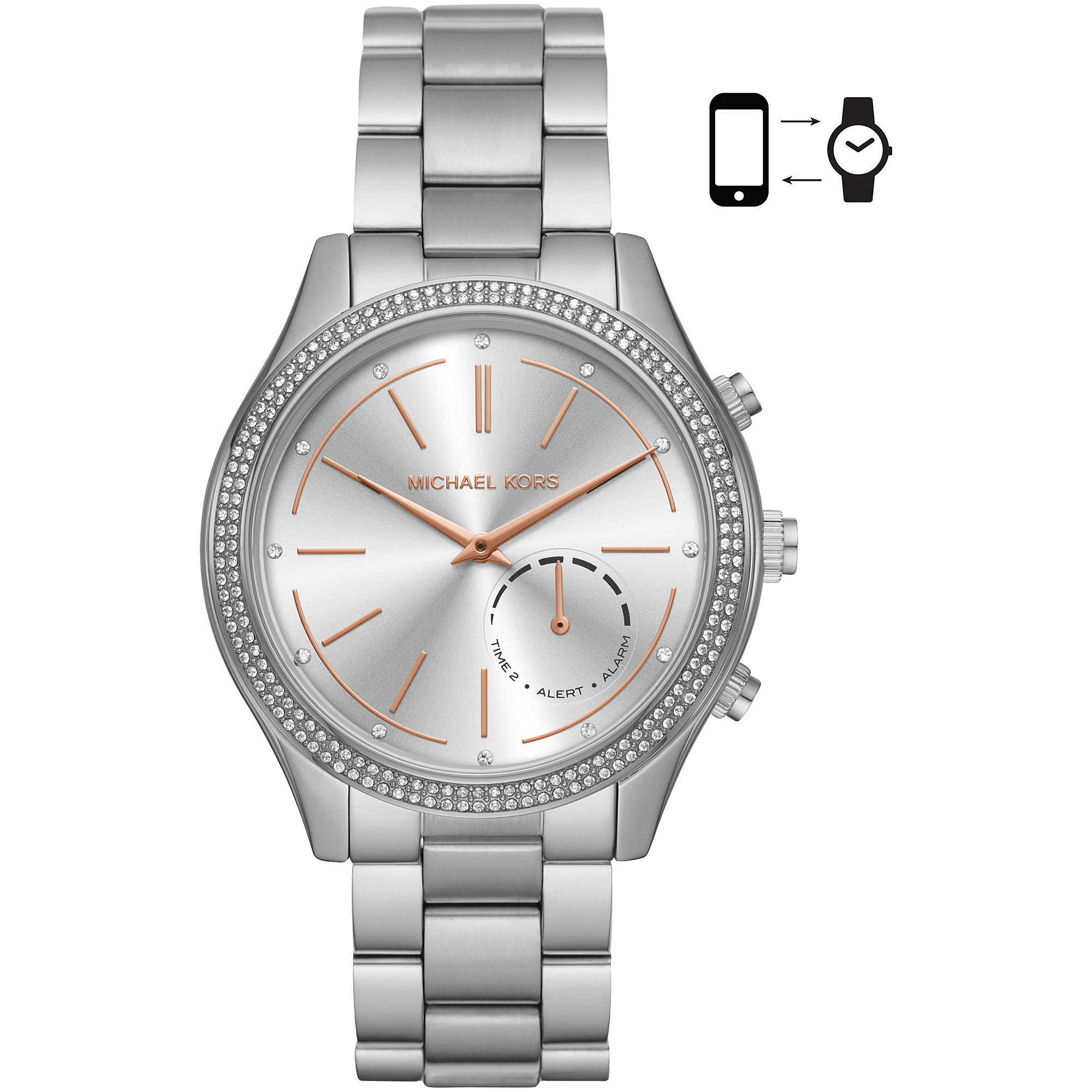 54dad77c57a9 watch Smartwatch woman Michael Kors Slim Runway MKT4004 Smartwatches ...