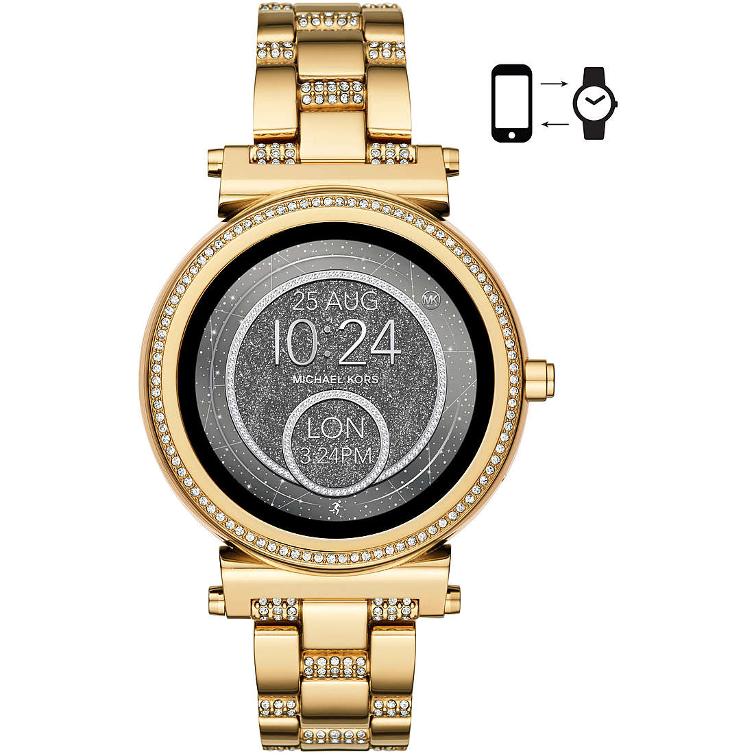 watch Smartwatch woman Michael Kors Sofie MKT5023