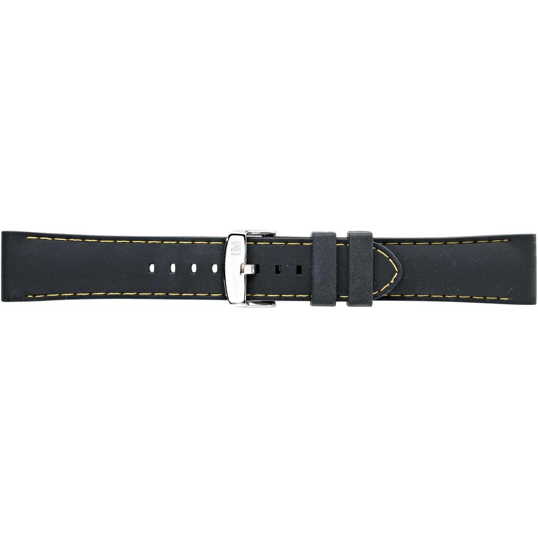 watch watch bands watch straps man Morellato Technogomma A01U3844187897CR22
