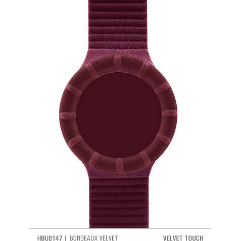 watch watch strap woman Hip Hop Velvet touch HBU0147
