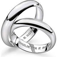 wedding ring unisex jewellery Comete Giulietta e Romeo ANB 1109B M32