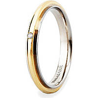 wedding ring unisex jewellery Unoaerre Brillanti Promesse 50 AFC 281/001 07 9